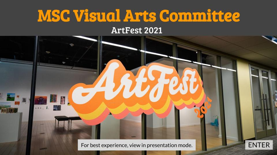 The MSC Visual Arts Committee Presents: Curating Performance on display in the Reynolds Gallery January 19 thru February 29, 2021. Admission is free.